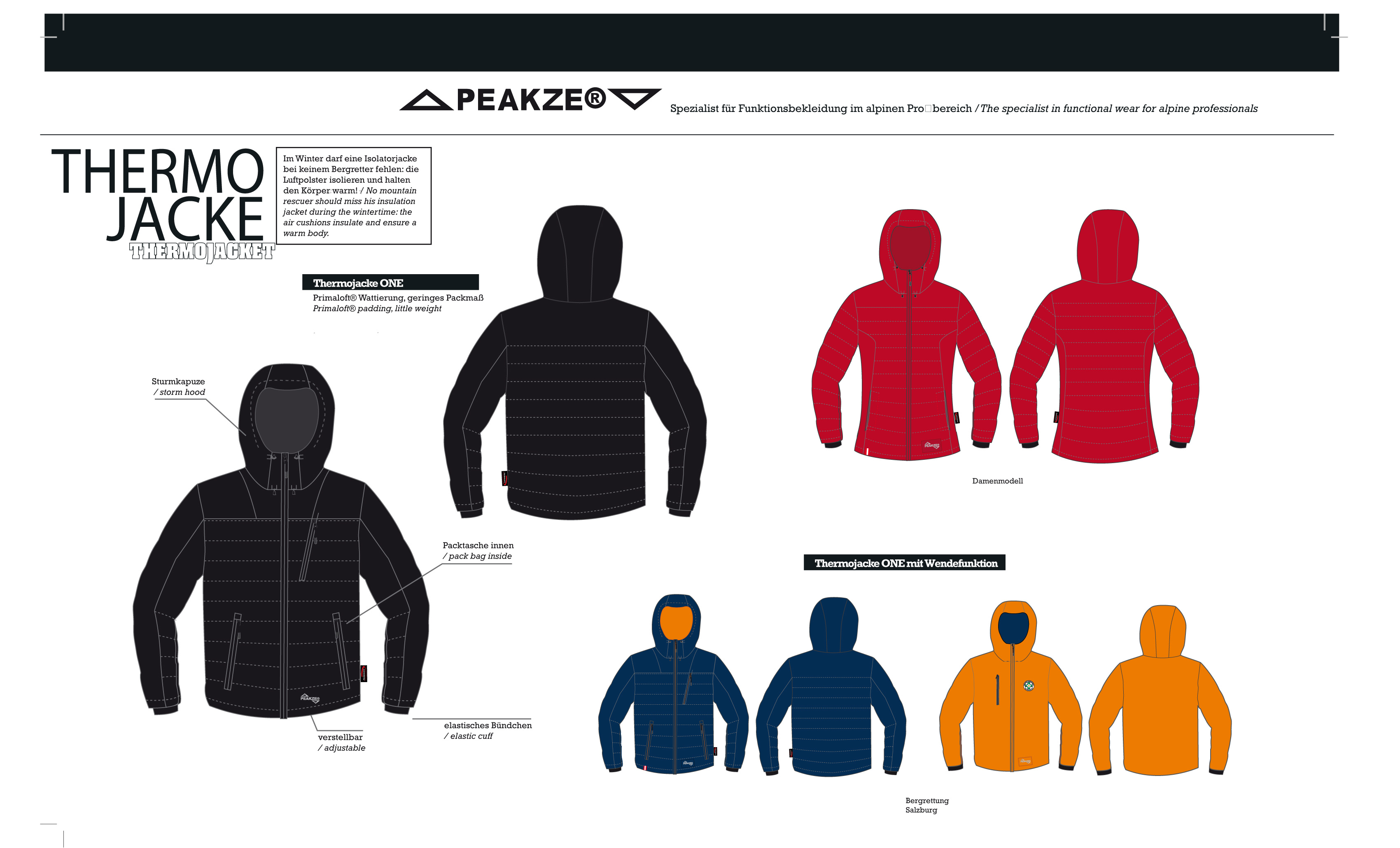 Thermo Jacke